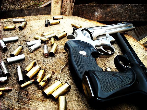 Guns Photograph - Destruction by Chelsea Jones