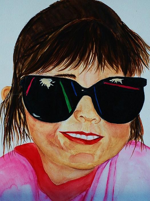 Girl Painting - Devin by Melinda Etzold