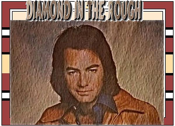 Neil Diamond Photograph - Diamond In The Rough by Randy Rosenberger