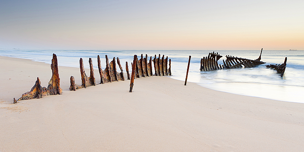Horizontal Photograph - Dicky Beach by Visual Clarity Photography
