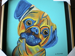 Dogs Painting - Did Someone Say Treat by Suzanne Filotei