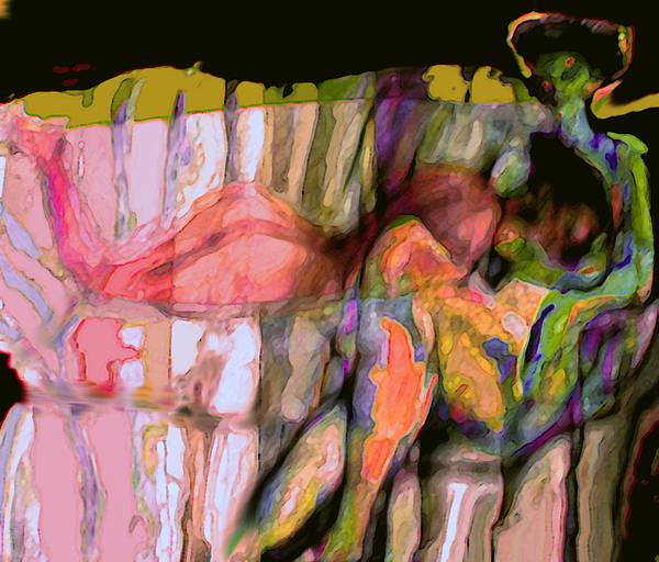 Nude Painting - Diffrerence by Noredin Morgan