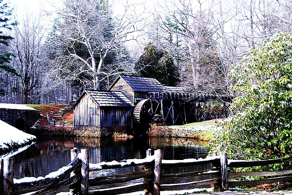 Mill Photograph - Digital Mill by Eric Liller