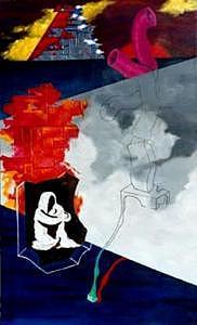 Surrealism Painting - Dimensional by DE Fryer