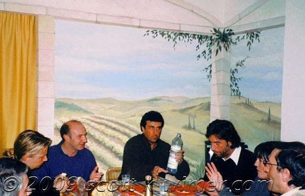 Dining Room Mural   Varese-italy Painting by Scott K Wimer