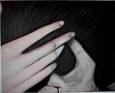 Dirty Hands Painting by Charles De SanJuan