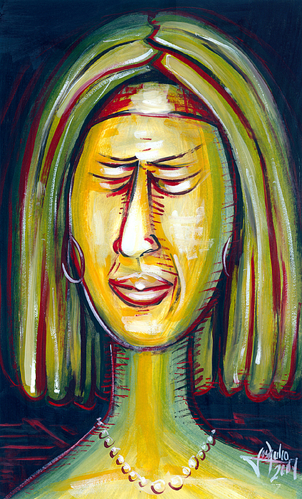 Disgustfull Painting by Jose Julio Perez