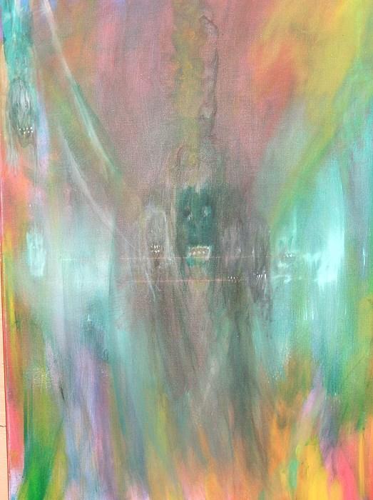 Vampires Painting - Distress by Randall Ciotti