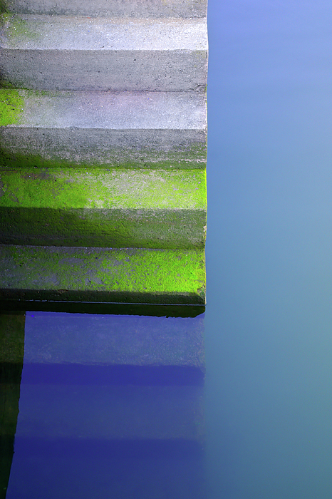 Abstract Photograph - Dock Stairs by Carlos Caetano