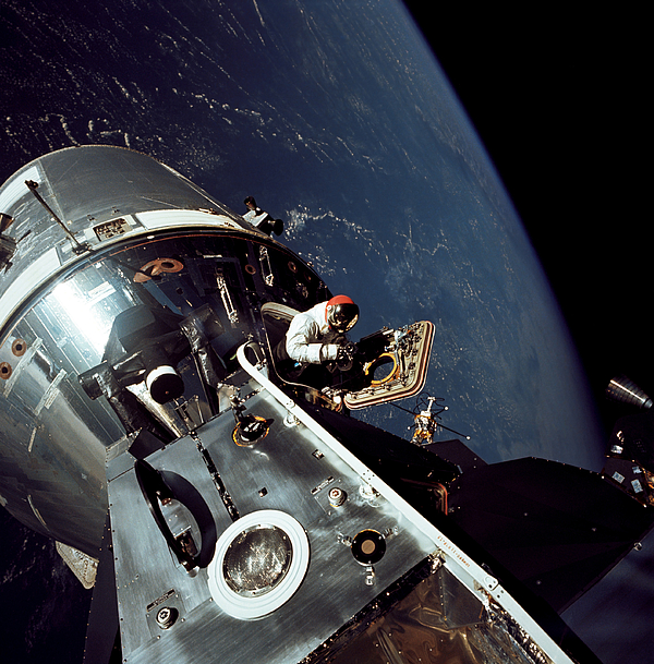 1969 Photograph - Docked Apollo 9 Command And Service by Stocktrek Images