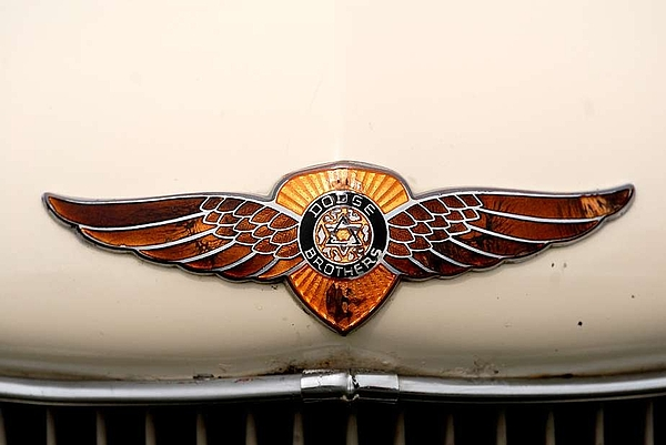 Dodge Photograph - Dodge Brothers Emblem by David Campione