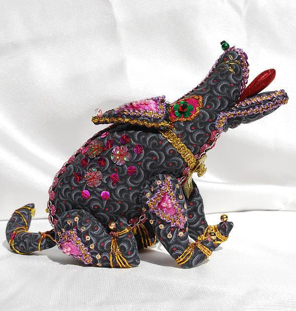 Doll Tapestry - Textile - dog by Tamara Konovalova