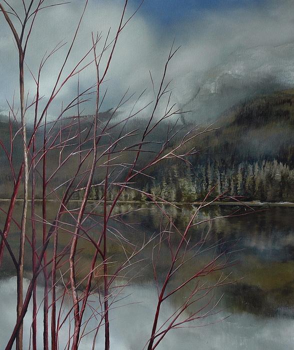 Dogwood Painting - Dogwood by Richard Cole