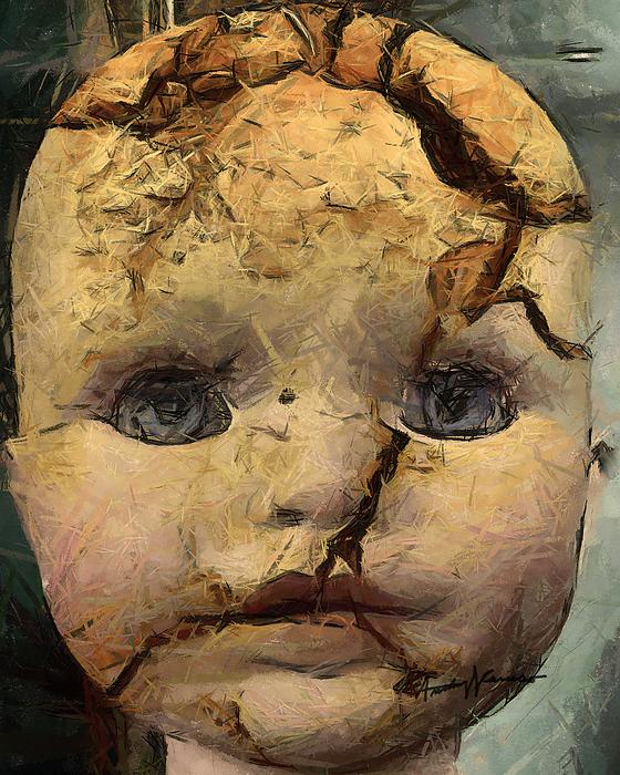 Doll Digital Art - Doll Trauma by Anthony Caruso