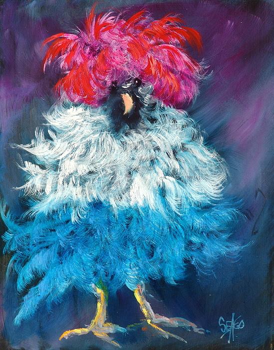 Barnyard Animal Painting - Dolly by Sally Seago