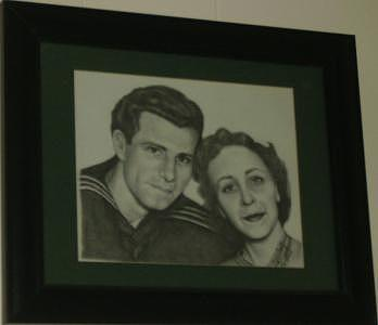 Portrait Drawing - Dominic And Norma Jeanne by Janet Gioffre Harrington