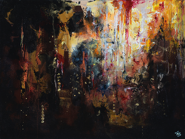Man Painting - Dominion by Jenny Bagwill