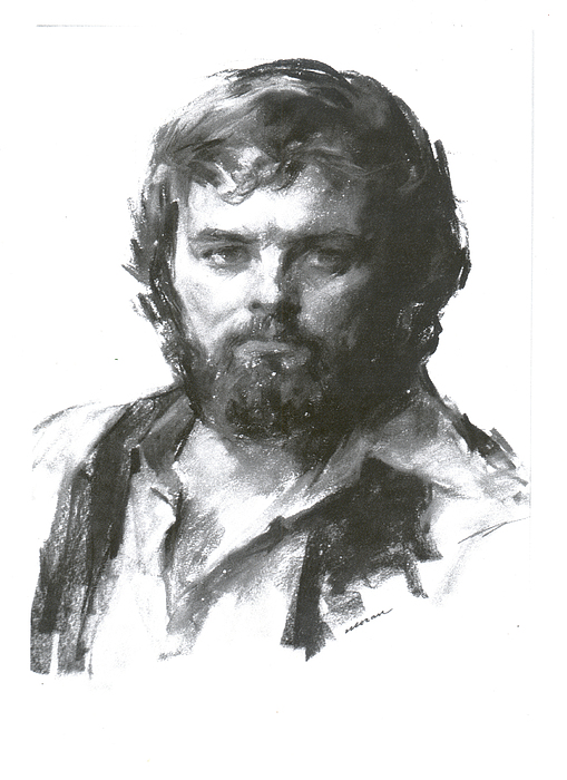 Don Scott Pastel by Charles Vernon Moran