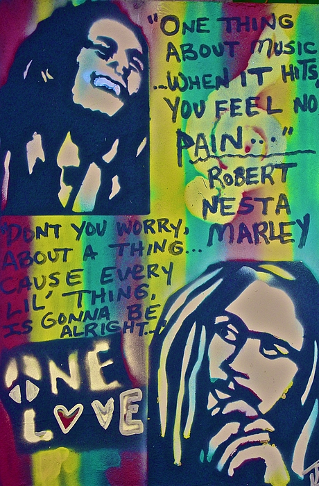 Hip Hop Painting - Dont You Worry by Tony B Conscious