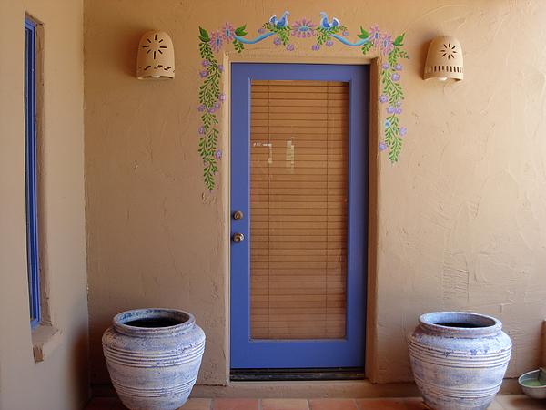 Genial Door Frame Mural