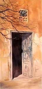 Door Painting by Tina Siddiqui