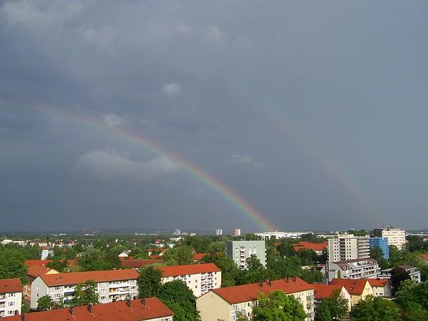 Double Rainbow 28 V 2010 Photograph by Amelia Romanowska