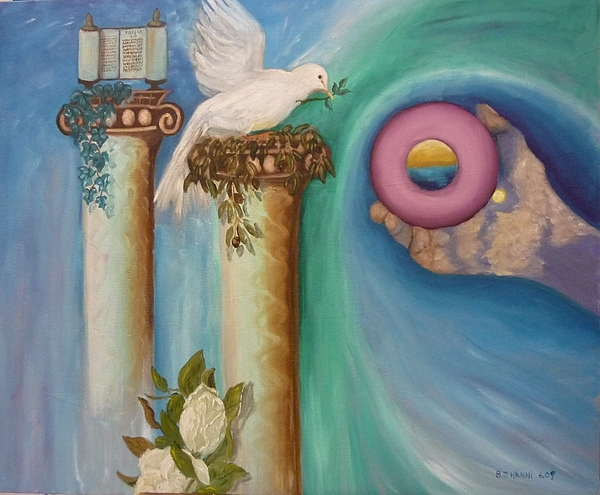 Dove Painting - Dove Of Peace by Beverly Hanni