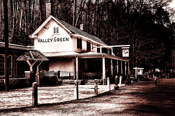 Valley Green Photograph - Down At Valley Green by Bill Cannon
