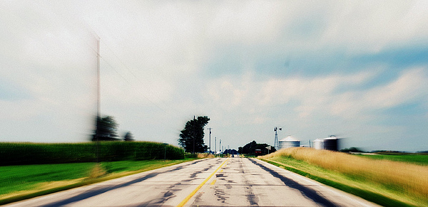 Photograph Photograph - Down The Road by Suzanne Marie  Lambert