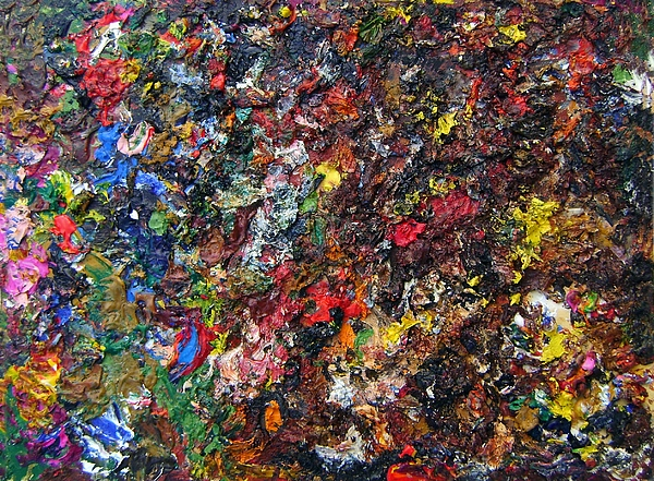 Abstract Painting - down to earth III by Nardo Ruggieri