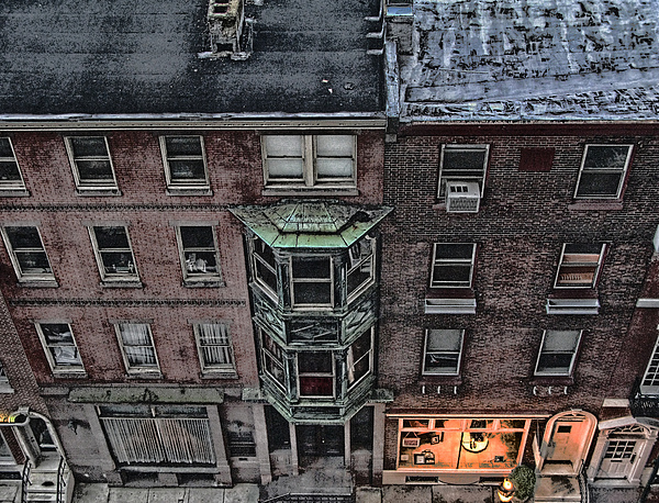 Downtown Photograph - Downtown Philadelphia Building by Anthony Rapp