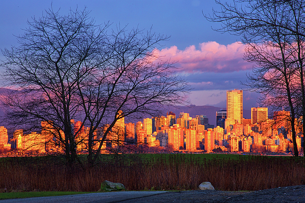 Vancouver Photograph - Downtown Vancouver by Paul Kloschinsky