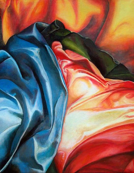 Drap Painting - Drape by Muriel Dolemieux
