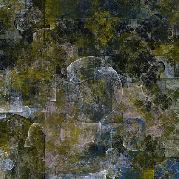 Abstract Digital Art - Dream Alembic by Ian Duncan Anderson