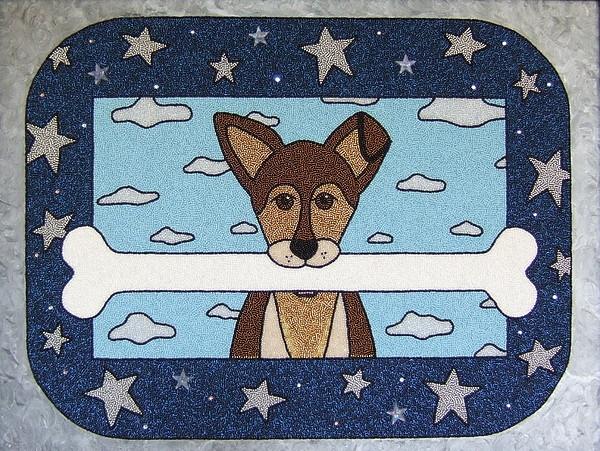 Dogs Mixed Media - Dream Big by Lisa Salamendra