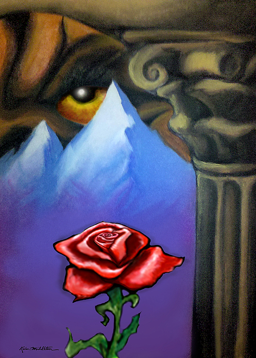 Dream Painting - Dream Image 5 by Kevin Middleton