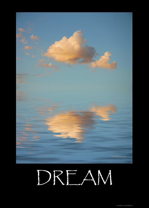 Cloud Photograph - Dream by Jerry McElroy