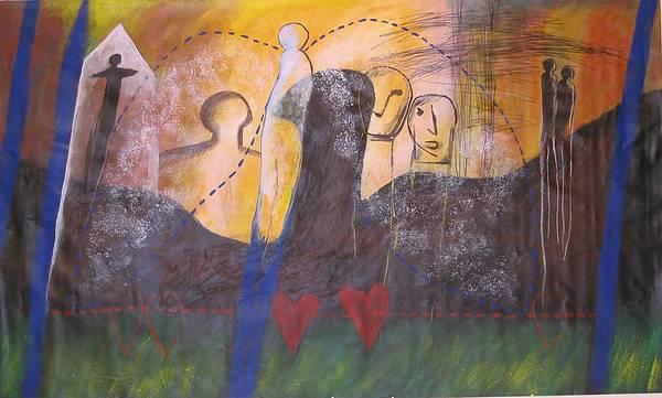 Drawing Mixed Media - Dream Lover by Manuel Revuelta