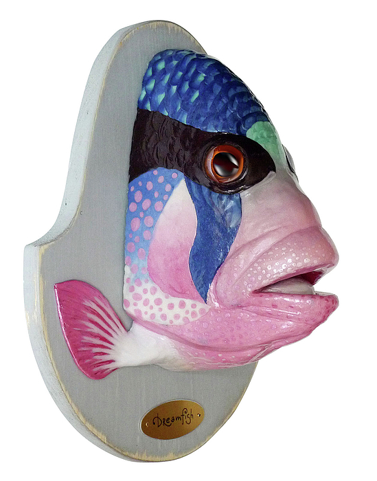 Fish Sculpture - Dreamfish Trophy by Artem Efimov