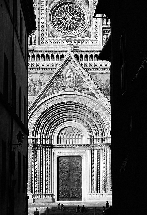 Black And White Photograph - Duomo I by Artecco Fine Art Photography