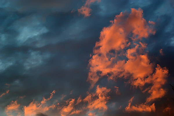 2d Photograph - Dynamic Sky by Brian Wallace