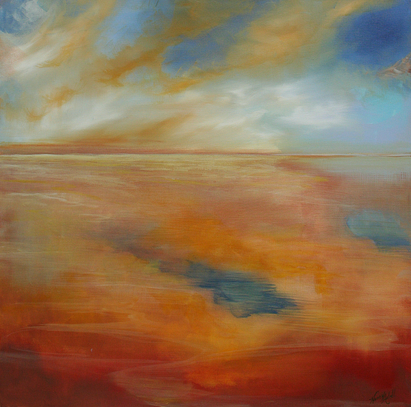 Contemporary Painting - Each New Day by Michele Hollister - for Nancy Asbell