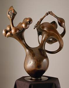 Resonance Sculpture - Ear Full Of Jazz by Chaz  Della Porta