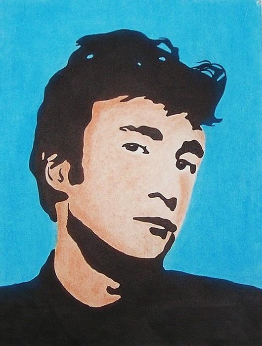 John Lennon Mixed Media - Early John Lennon by Kenneth Regan