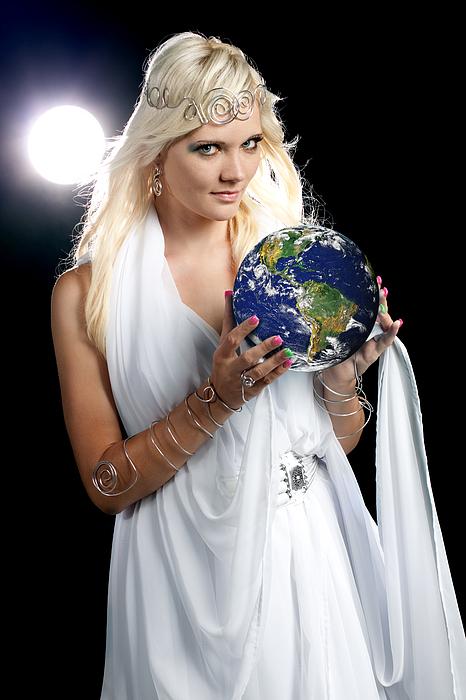 Earth Photograph - Earth Angel by Cindy Singleton