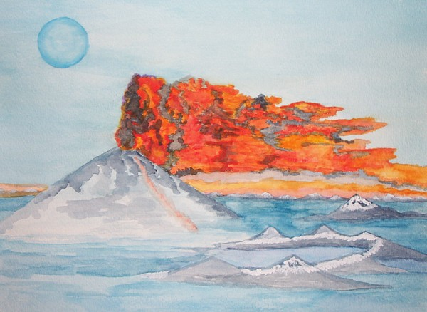 The Sea Painting - Earth In Action by Connie Valasco