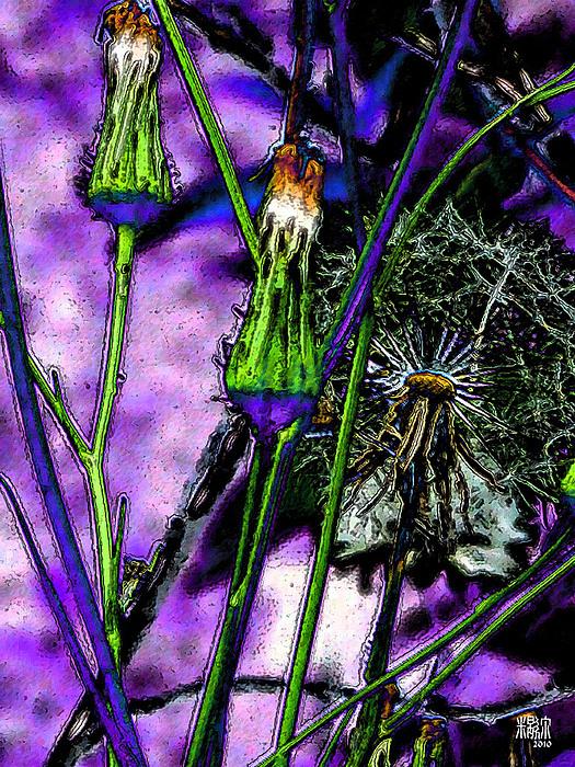Flowers Digital Art - Earth Nail by Michele Caporaso