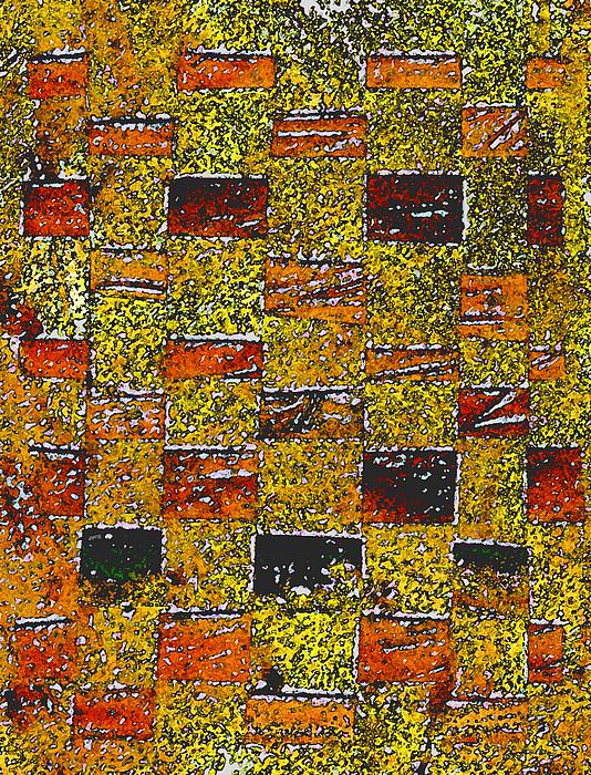 Weaving Painting - Earths Tapestry by Wayne Potrafka