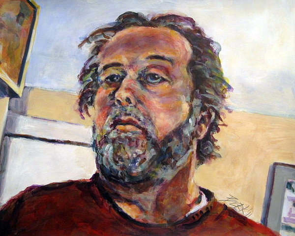 2011 Painting - Easels Eye by Chuck Berk