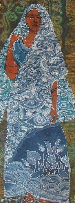 Impressionism Painting - east Pattern 3  by Chagorova Tanja